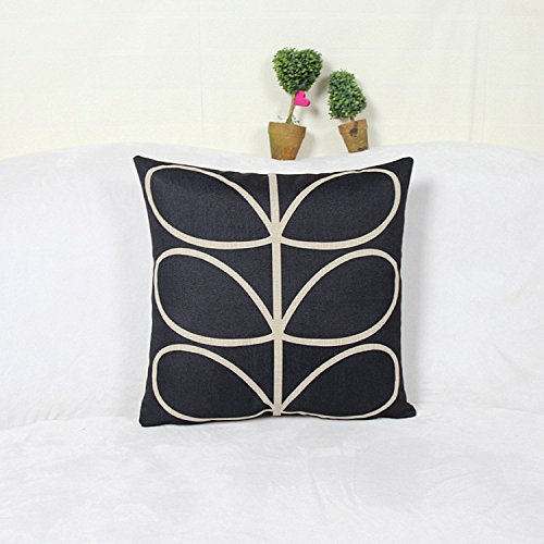 Cartoon di biancheria in cotone timbro di lino cuscino