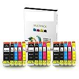 15Cartouches d'encre XL pour Epson Expression Premium XP-510xp-520XP-600XP-605XP-610XP-615XP-620xp-625XP-700XP-710xp-720XP-800Xp-820Imprimante 26x 26x l non OEM
