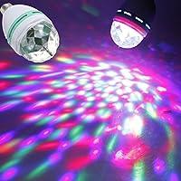 philmat 3 W E27 colorã © rotación lámpara foco RGB para ...