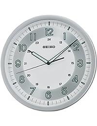 SEIKO QXA628S - Reloj de pared Lumibrite con Movimiento Continuo