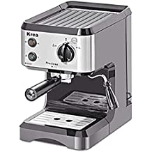 KREA Máquina de café barquillos filtro Café molido Pod Pastillas Capuchino dispensador ES150 casa cocina oficina