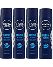 Nivea Fresh Active Original 48 Hours Deodorant, 150 ml (Pack of 4)