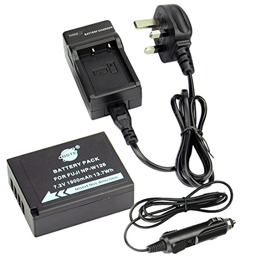 dste-np-w126-rechargeable-li-ion-battery-charger-dc129u-for-fujifilm-finepix-hs30exr-hs33exr-hs50exr