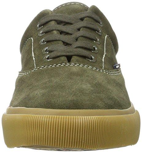 Hilfiger Denim Men V2385ibe 4b Sneaker Green (olive Night)