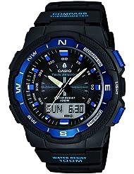 Casio Malla Me Up Outgear Cuarzo: Batería JAPAN Reloj (Modelo de Asia) SGW-500H-2B
