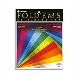 Unbekannt Fold'Ems - Origami Papier - Metallic - 11,7 cm x 11,7 cm