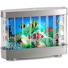 LED Kinder Zimmer Tisch Leuchte Dekorations Lampe Aquarium Fische Leuchten Direkt 85204 70