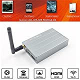 SO-buts MiraScreen Auto Wifi Adapter/Spiegel Link Box/Wifi Monitor Dongle/1080p HD für Android/iOS/iPhone (Silber)