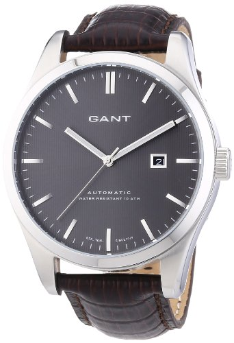 GANT Men's Automatic Watch W10971 with Leather Strap