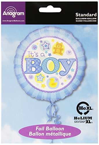 IT'S A BOY MARQUEE - PALLONCINO MYLAR 18