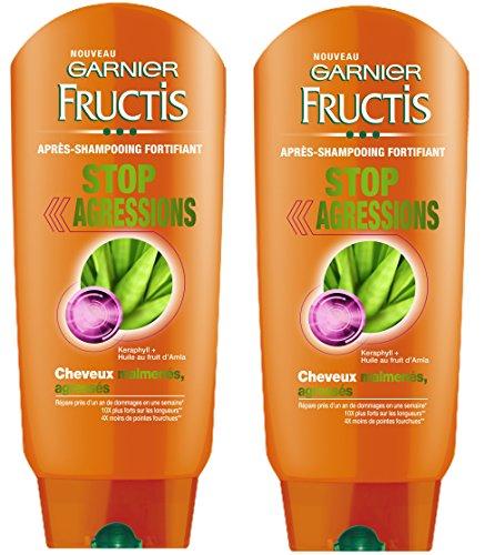 Garnier Fructis Stop Agressions Shampoo geschädigtes Haar, 2 Stück