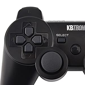 Wireless Controller Gamepad Bluetooth Sixaxis Double Vibration Joystick For PS3 Playstation Black PC