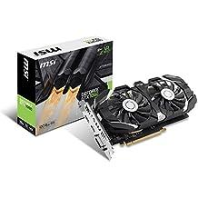 MSI GeForce GTX 1060 6GT OCV1 6GB Nvidia GDDR5 1x HDMI, 1x DP, 1x DL-DVI-D, 2 Slot Afterburner OC, VR Ready, 4K-optimiert, Grafikkarte