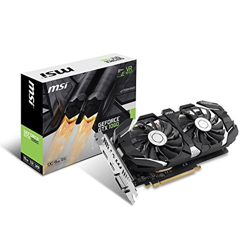 Computer Gtx Nvidia (MSI GeForce GTX 1060 6GT OCV1 6GB Nvidia GDDR5 1x HDMI, 1x DP, 1x DL-DVI-D, 2 Slot Afterburner OC, VR Ready, 4K-optimiert, Grafikkarte)