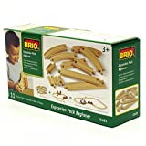 BRIO World Railway Track Expansion Pack - Beginner
