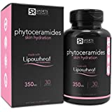 |Phytoceramides 350mg made with Clinically Proven Lipowheat® || Plant Derived and GMO free with No Fillers or Synthetic Vitamins - 30 liquid softgels, Made in USA|