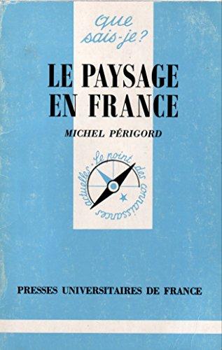 Le Paysage en France