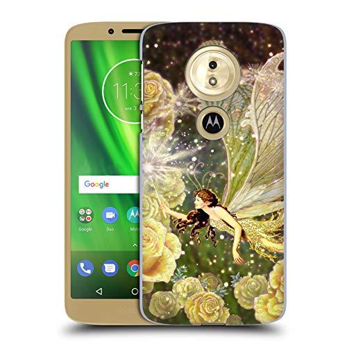 Head Case Designs Offizielle Myles Pinkney Karamellbonbon Fantasy Ruckseite Hülle für Motorola Moto E5 / G6 Play