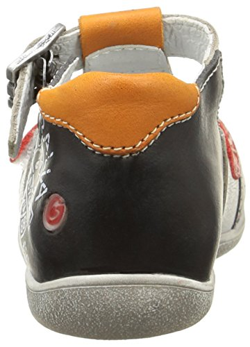 GBB Martin, Chaussures Bébé marche bébé garçon Blanc (19 Vtc Blanc/Marine/Rouge Dpf/Raiza)