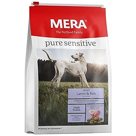 MERA pure sensitive Adult Lamm und Reis Hundefutter – Trockenfutter für die tägliche Ernährung nahrungssensibler Hunde