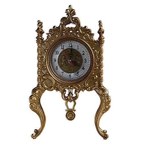 Tischuhren Bronze Exquisite Dekoration Europäischen Retro Kreative Heimat Wohnzimmer Dekoration Antike Kamin Uhr - Kamin Uhr