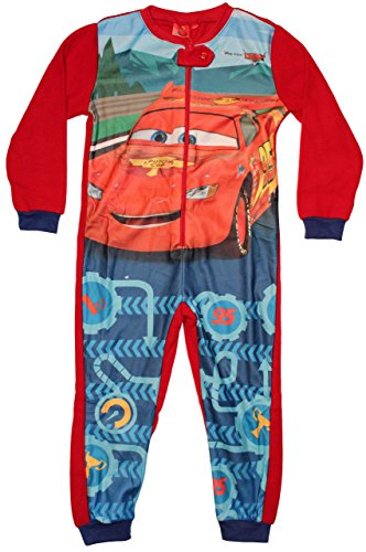 Disney Cars Overall Jumpsuit Onesie (104, Rot)