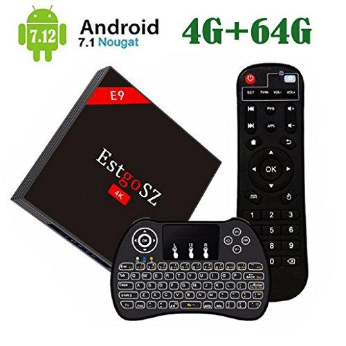[2018 NEW ♥ 4G+64G TV BOX] EstgoSZ Android...
