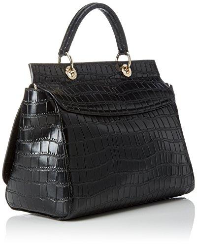 Versace Jeans Ee1vpbbc3_e75587, Borsa a Mano Donna, 14x26x31 cm (W x H x L) Nero