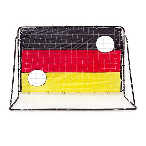 Relaxdays Fußballtor mit Torwand HBT 150 x 210 x 75 cm, Deutschland, M, 10020023 - 4
