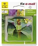 fix-o-moll 3563020 Klett-Binder Garden 5 m x 30 mm, grün