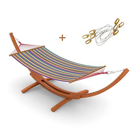 h ngematte mit gestell relaxen im garten die besten. Black Bedroom Furniture Sets. Home Design Ideas