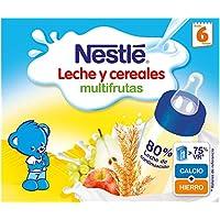 NESTLÉ Leche y Cereales Multifrutas - Paquete de 6 x 2 unidades de ...
