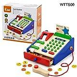 #10: Shopaholic Wooden Kids/Children's Cash Register-WTTS00