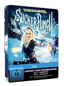 Sucker Punch (limitiertes Steelbook, exklusiv bei Amazon.de, inkl. Kinofassung, Extended Cut) (2 Discs)  [Blu-ray]
