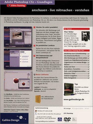 Adobe Photoshop CS2 - Grundlagen - Das Video-Training auf DVD