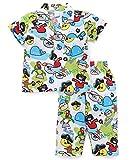 #7: Romano Kid's Trendy Printed 100% Cotton Night Suit Half Sleeves