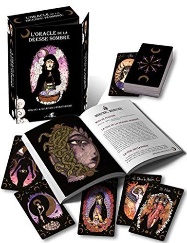 L'oracle de la déesse sombre: Coffret comprenant un oracle de 44 cartes, un livre explicatif en couleur de 292 pages et une boîte cloche par Iria Del