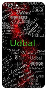 Udbal (Mighty) Name & Sign Printed All over customize & Personalized!! Protective back cover for your Smart Phone : Samsung Galaxy Note-3