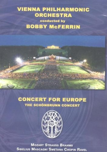 Concert For Europe - Vienna Philharmonic Orchestra conducted by Bobby McFerrin