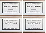 4 x Simply capre latte sapone. Unscented 100 g. pelli - Best Reviews Guide