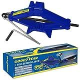 Goodyear 1 Ton Professional Scissor Jack for Car Van - Speed Wind Crank Handle