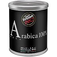 Caffè Vergnano 1882 Lattina 100% Arabica Moka - 2 Confezioni da 250g