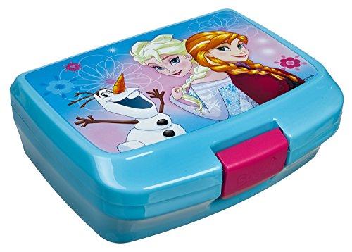 Undercover FRZH7293 Kindergartentasche, Disney Frozen, ca. 21 x 22 x 8 cm Brotzeitdose