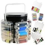 Generic. Storag Storage Caddy Trave Kit Set REA Fall Gewinde dles Tape Deluxe Reisenähset in in Nadeln Pins