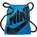 Nike BA5351-437, Sacca Unisex – Adulto, Light Blu Lacquer/Nero, Taglia Unica