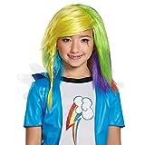 Disguise 85518 Rainbow Dash Equestria Wig Kostüm Child