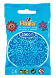 Hama Perlen 501-46 - Mini-Perlen 2000 Stück pastell-blau