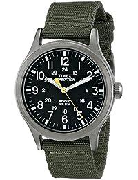 76ad257c8c92 Timex Expedition - Reloj análogico de cuarzo con correa de nailon para  hombre