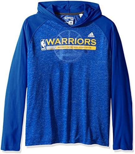oroen State Warriors Adidas NBA    Fast Break  Men's Climalite Hooded L S Shirt Camicia B01M6708O5 Parent | Resistenza Forte Da Calore E Resistente  | Moderato Prezzo  | qualità regina  bbfcf0