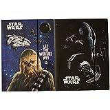 Disney Star Wars carpetas con goma elástica carpeta Juego de 2